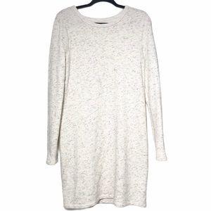 Lou & Grey Heathered Terry Cloth Long Sleeve Dress